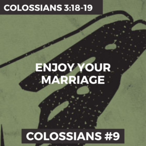 Colossians #9 – Enjoy Your Marriage