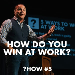 Proverbs #5 – How do you win at work?