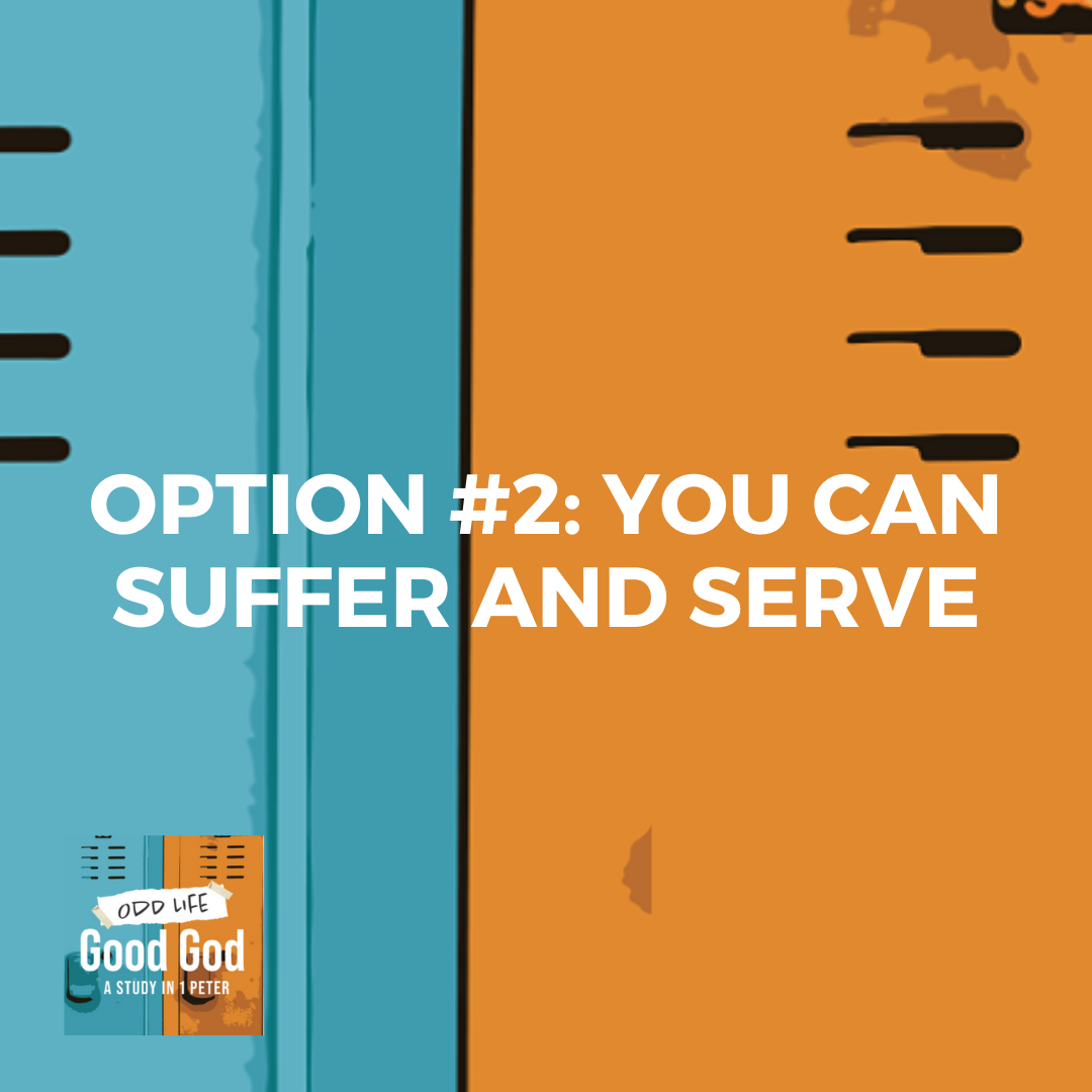 Option #2: You Can Suffer and Serve | Real Faith